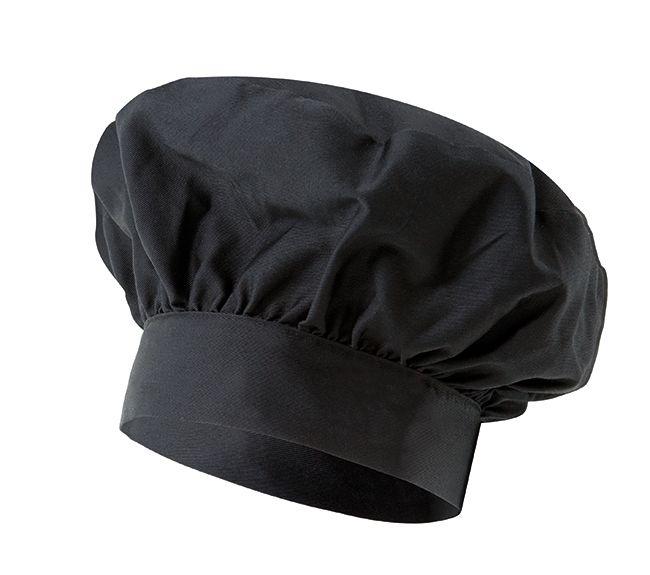 Gorros de cocina velilla gorro francés de 210 gr de algodon con logo imagen 1
