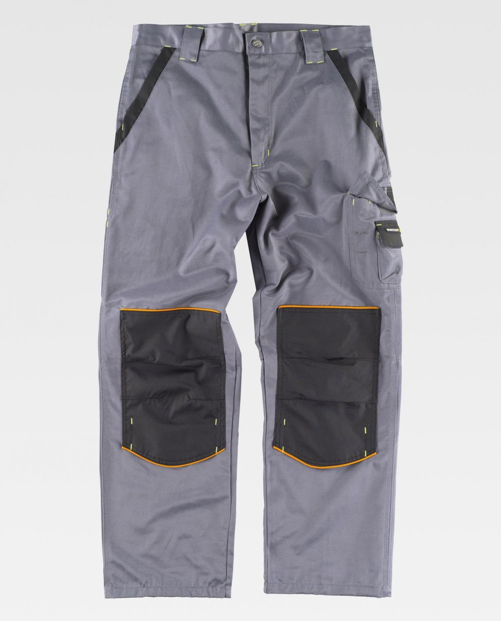 Pantalones de trabajo workteam wf1903 de algodon con impresión vista 2
