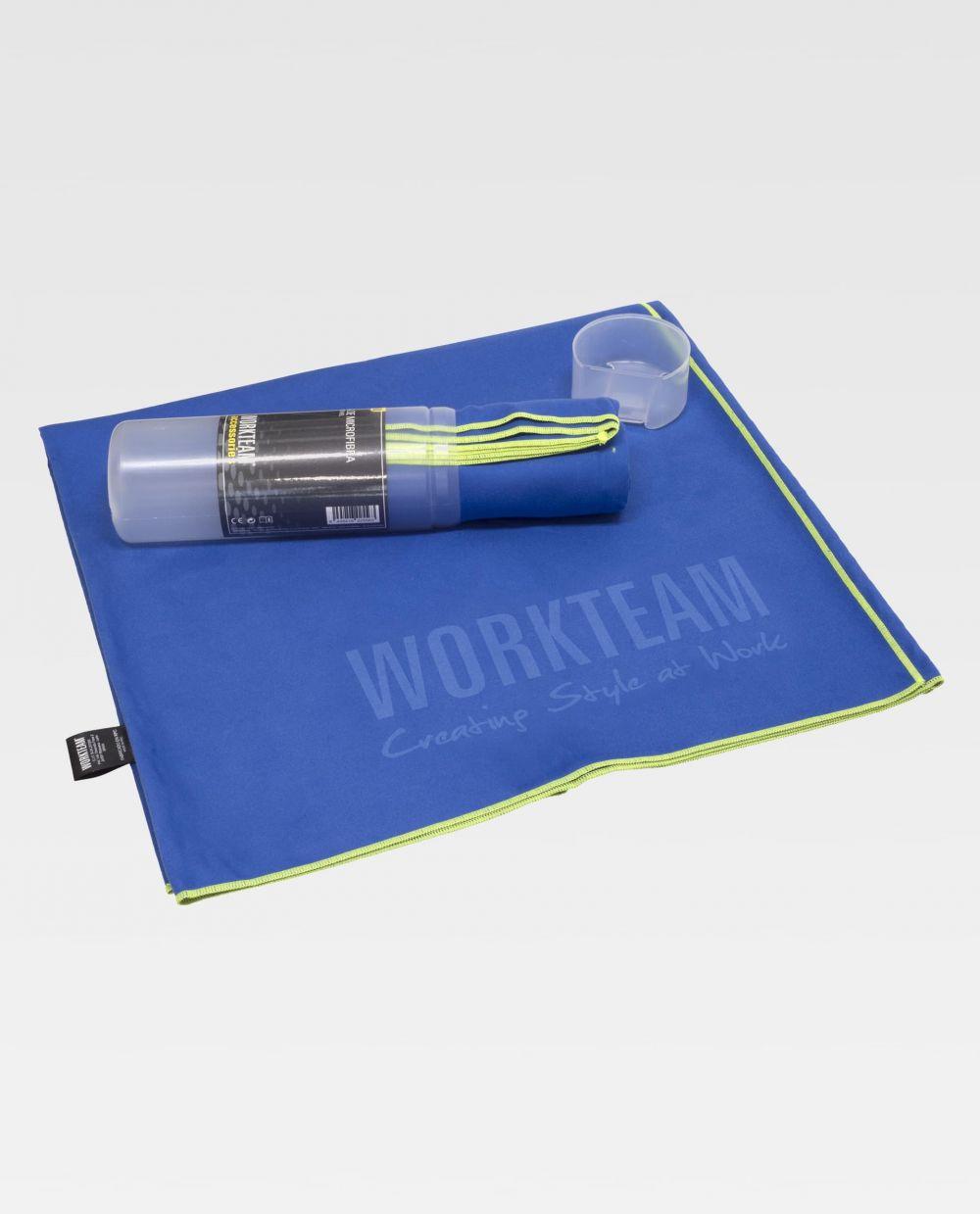 Toallas y albornoces workteam wfa450 de poliéster con impresión vista 1