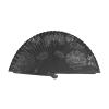 Abanicos floral de madera negro imagen 1