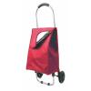 Carritos compra cooler de poliéster rojo con impresión vista 1