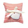 Ambiente y velas saco aroma fragrance claro de algodon rojo con impresión vista 1