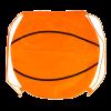 Mochila cuerdas personalizada baloncesto de poliéster para personalizar imagen 1