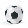 Mochila cuerdas personalizada baloncesto de poliéster blanco negro con impresión vista 1