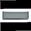 Chapas gratifo de metal plata con logo vista 1