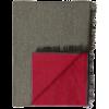 Bufandas mild de rayón rojo con logo vista 1