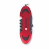 Navajas swiss de metal rojo para personalizar vista 1