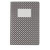 Libretas pequeñas geo a5 de papel negro con impresión vista 1