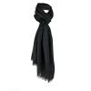 Complementos vestir foulard spike de viscosa negro con publicidad imagen 1