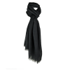 Complementos vestir foulard spike de viscosa negro con logo vista 1