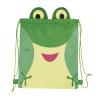 Mochila cuerdas personalizada wildlife de poliéster verde vista 1