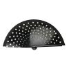 Abanicos lunares de madera negro para personalizar vista 1