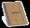 Cuadernos con anillas marlowe de cartón ecológico para personalizar vista 2