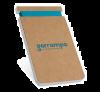 Libretas con banda elastica wilde de cartón ecológico con publicidad imagen 1