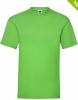 Camisetas manga corta fruit of the loom valueweight 165 gr lime green vista 1