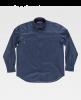 Camisas de trabajo workteam basic industrial navy para personalizar vista 1