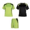 Equipaciones deportivas roly conjunto deportivo salas de niño de poliéster verde pistacho con publicidad vista 1